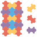 brainstorming puzzle game, mental activity, puzzle game, puzzle play, solving puzzle game icon
