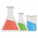 alcohol, chemical flask, chemicals, chemistry vassals, laboratory chemicals icon