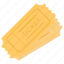 coupan, entry tickets, passes, receipt, record, seminar tickets icon