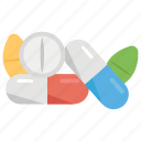 antibiotic, dose, drugs, medicines, pills, tablets icon