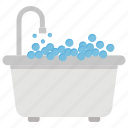 aroma therapy, bathtub, relaxing bath, spa bath, spa therapy, therapy bath icon