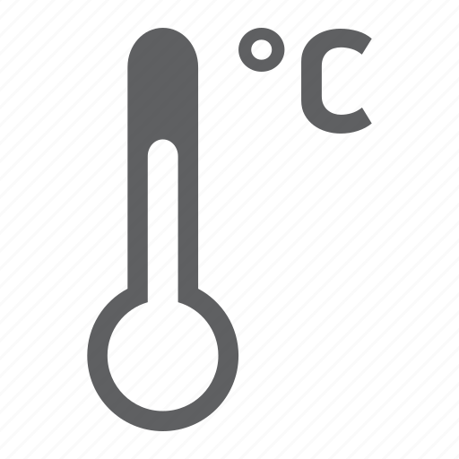 celcius, degree, forecast, hot, temperature, thermometer, weather icon