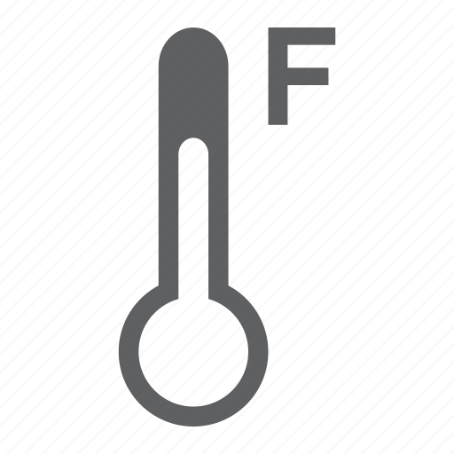 cold, fahrenheit, forecast, hot, temperature, thermometer, weather icon