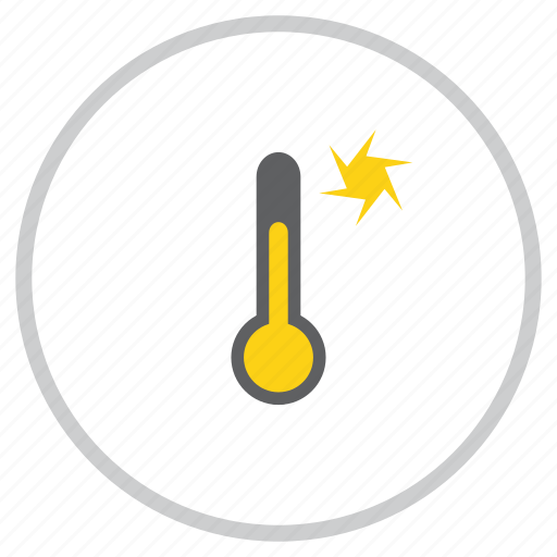 forecast, storm, sunny, temperature, thermometer, weather, windy icon