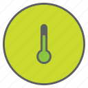 forecast, measure, reading, temperature, thermometer, weather icon