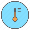 forecast, measurement, options, reading, temperature, thermometer, weather icon