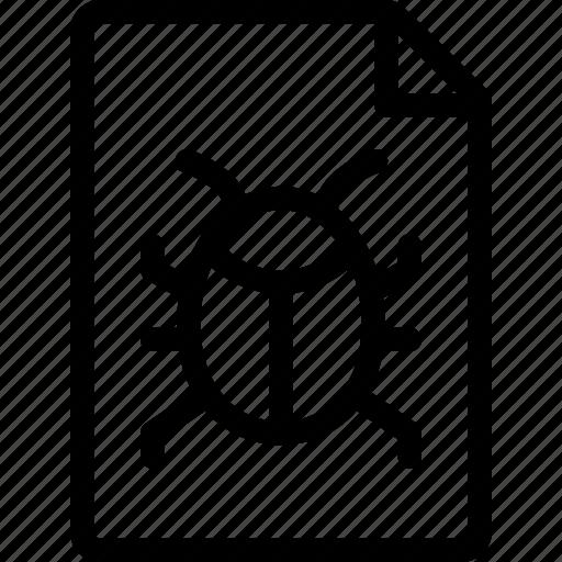 bug, bugs, report icon