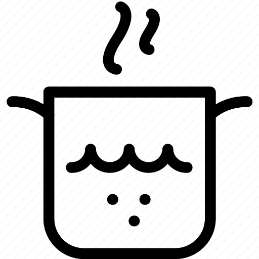 boil, boiling, cooking, water icon
