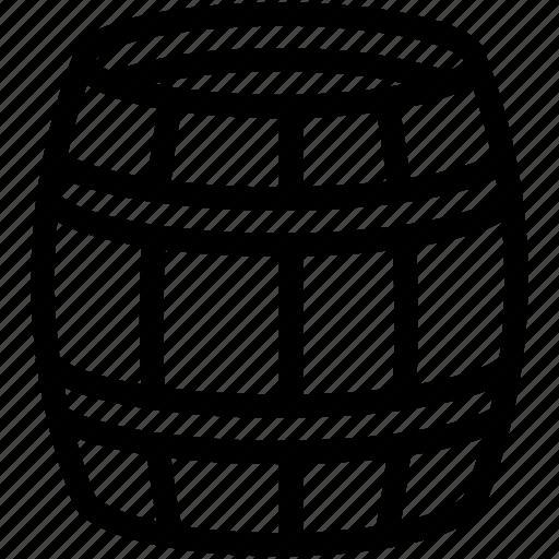 Barrel, oak, wine, wooden icon - Download on Iconfinder
