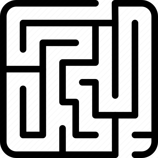 game, labyrinth, maze icon