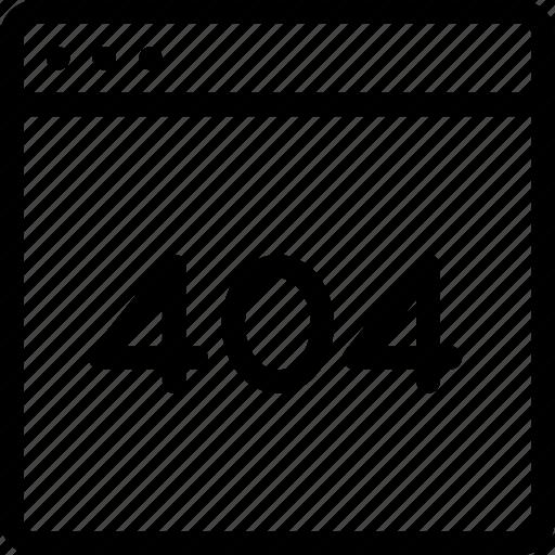 404, error, missing, website icon
