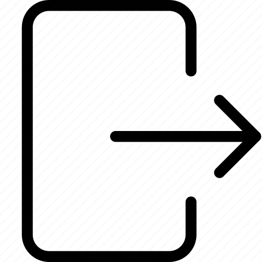 exit, export icon