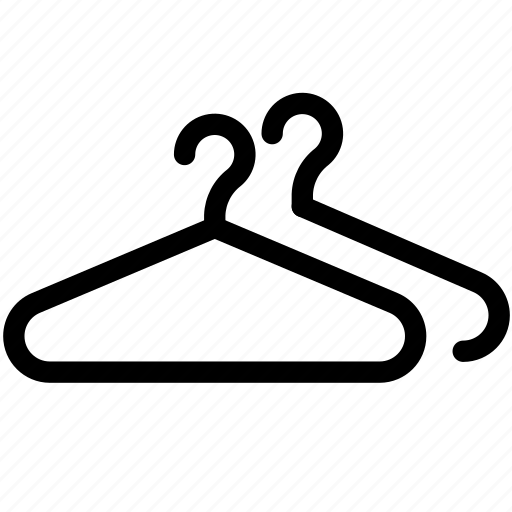 clothes, hangers, storing icon