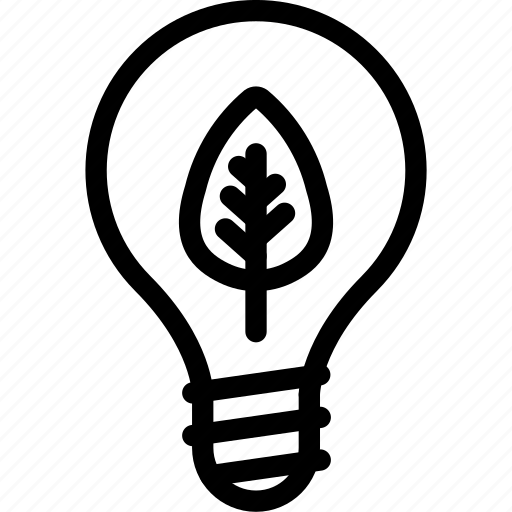 bulb, eco, light, lighting icon
