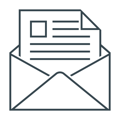 email, emailer, envelope, letter, mail, message icon