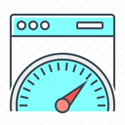 optimization, page, page speed, performance, seo, speed icon