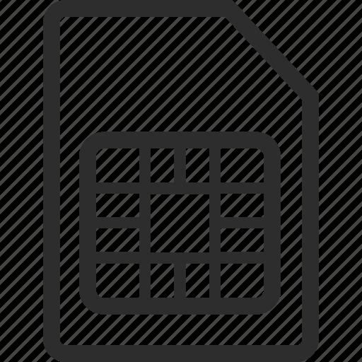document, memory, storage, technology icon