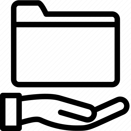 folder, map, shared icon