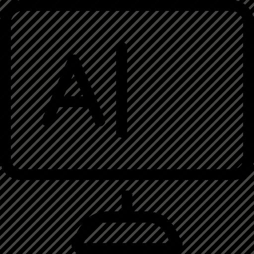 content, desktop, writing icon