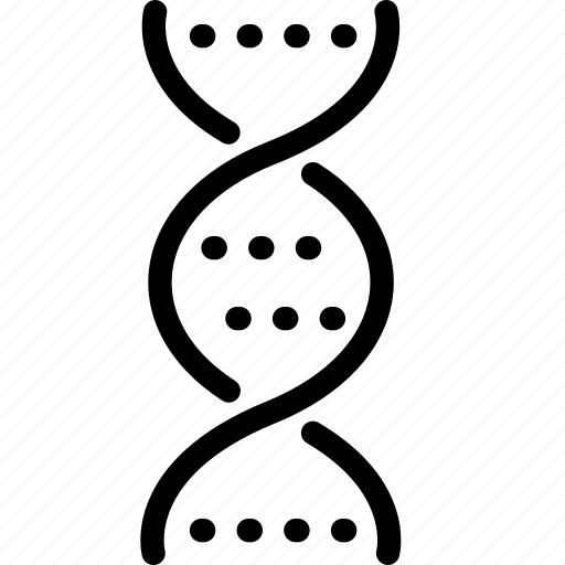 dna, genetics, test icon