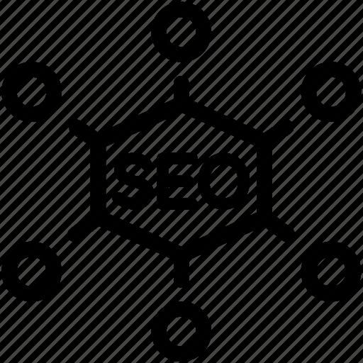 seo, strategy, tactics icon