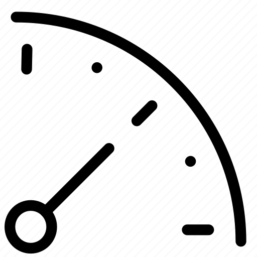 dashboard, gauge icon