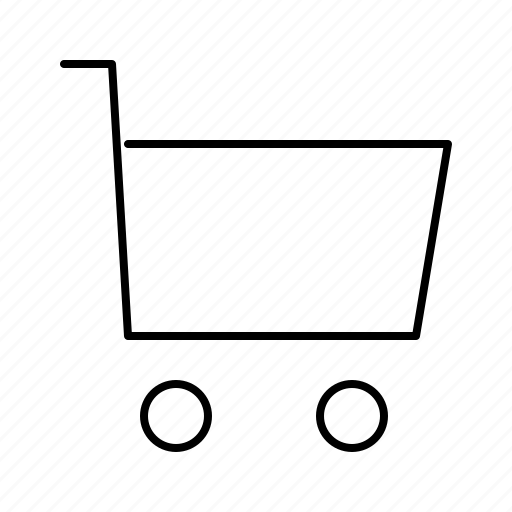 cart, commerce, shopping, supermarket, web icon