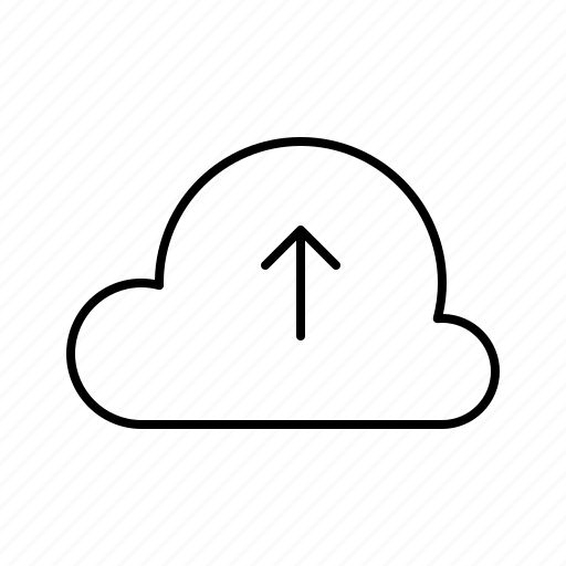 cloud, data, hosting, server, service, upload icon