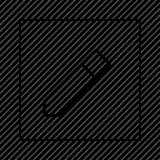 edit, note, pencil, software, write icon