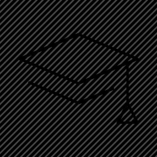 board, education, graduate, mortar, school, university icon