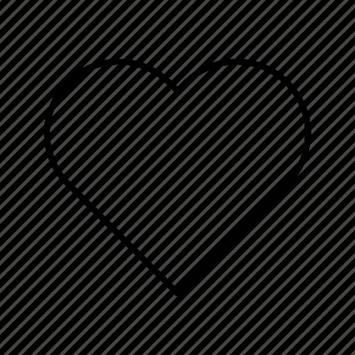 day, heart, love, valentines, wedding icon
