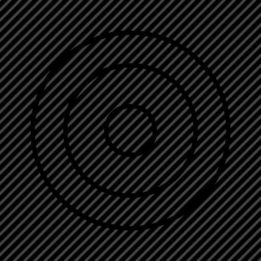 bulls, eye, marketing, middle, point, target icon
