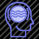 dynamic, head, mind, thinker, thinking icon