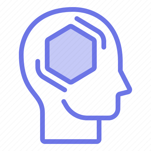 Head, mind, static, thinker, thinking icon - Download on Iconfinder
