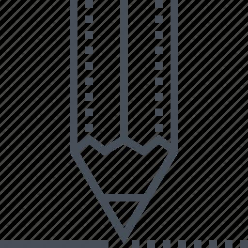 edit, edition, interface, pencil, pencils, symbols, tool icon