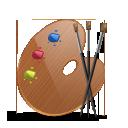 colors, paint icon