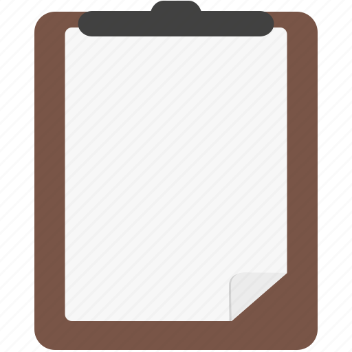 checklist, clipboard, document, list, report icon