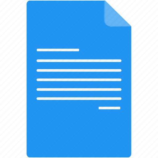 document, documents, extension, file, paper icon