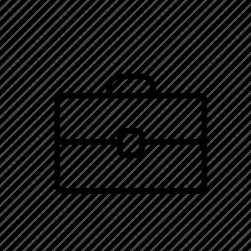 briefcase, business, office, personal, portfolio, suitcase, teacher icon