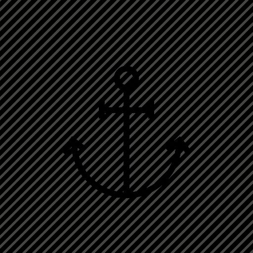 anchor, fisherman, fix, port, sailor, sea, travel icon