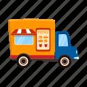 car, counter, kiosk, mobile, stall, street vending icon