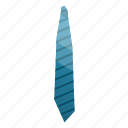 blue, business, cartoon, isometric, male, necktie, striped