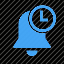 alarm, alert, bell, pending, time, timer icon