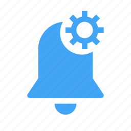 alarm, alert, bell, settings, time icon