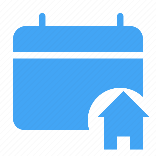 calander, date, day, event, home, house icon