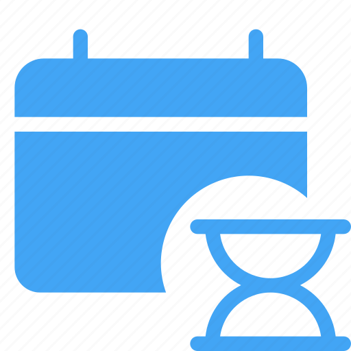 calander, date, interface, scheduled, waiting icon