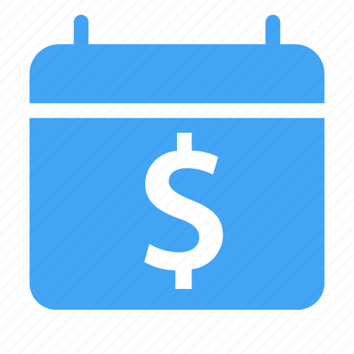 calender, date, day, dollar, event, money, shop icon