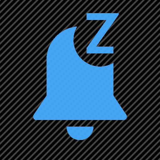 alarm, alert, bell, clock, snooze, warming icon