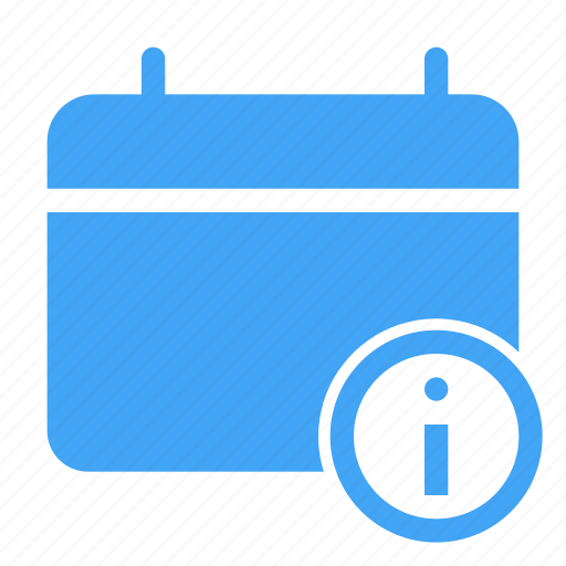 calender, date, day, event, information, scheduled icon