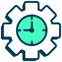 alarm, clock, optimization, performance, settings, time, watch icon